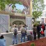 Fresque sériciculture le Cannet des Maures