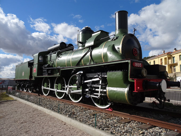 Locomotive de Carnoules