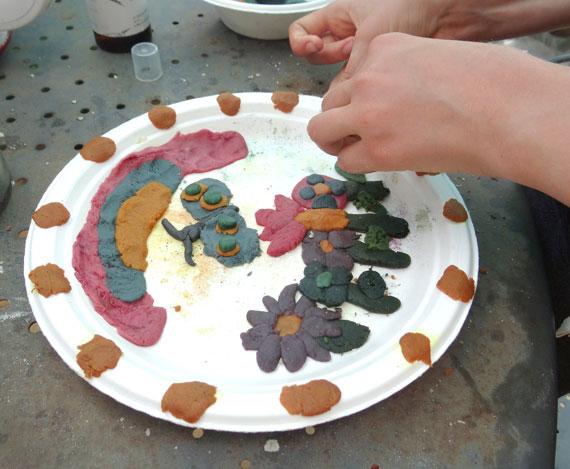 Atelier pâte à modeler végétale