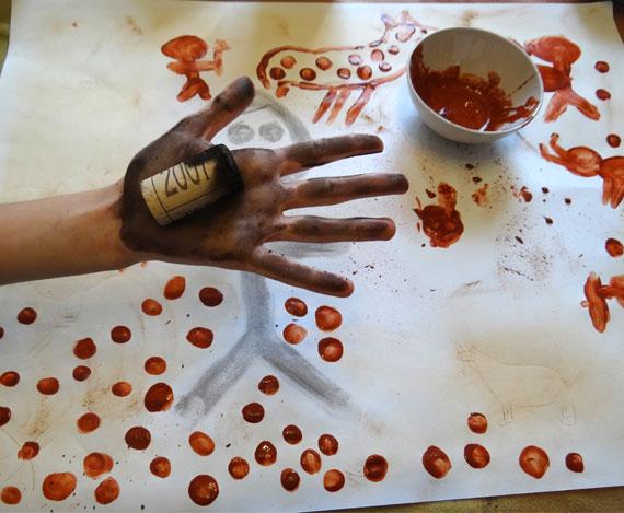 Atelier pigments Préhistoire