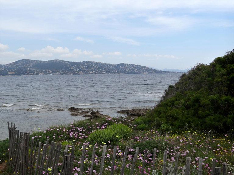 La point des Sardinaux au printemps