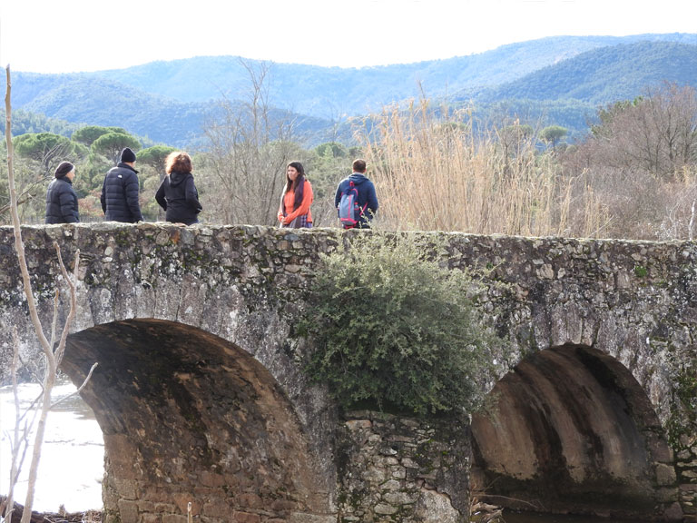 Visite la route des vieux ponts