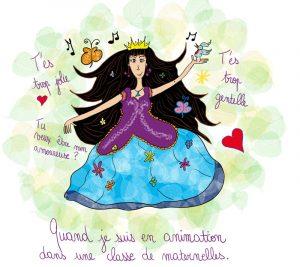 Je suis une fée-princesse