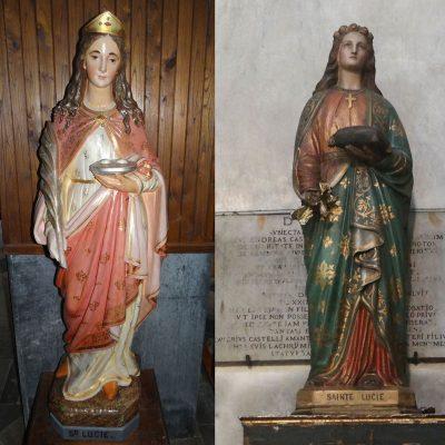 La lumière sur sainte Lucie